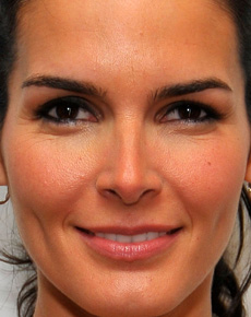 Angie Harmon's Face