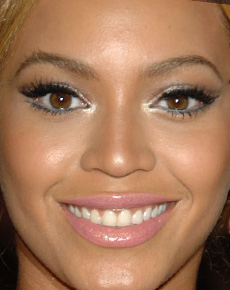 Beyonce Knowles's Face