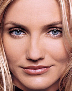 Cameron Diaz's eyes