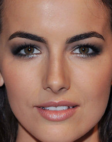 Camilla Belle's eyes