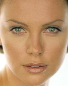 Charlize Theron's Face