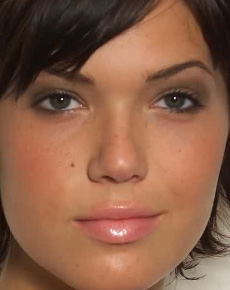 Mandy Moore's Face