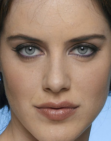 Michelle Ryan's Face