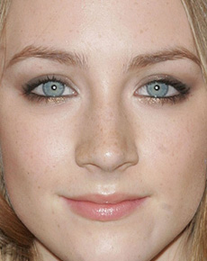 butterfly eyes the eyes of saoirse ronan
