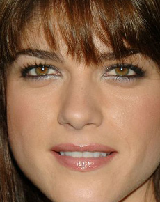 Selma Blair's Face