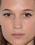 Alicia Vikander's lips