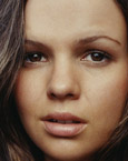 Amber Tamblyn's eyes