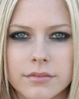 Avril Lavigne's Eyes