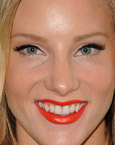 Heather Morris's Lips