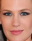 January Jones's Eyes