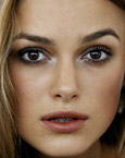 Keira Knightley's Eyes