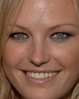 Malin Akerman's Face