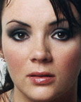 Martine Mccutcheon's Face