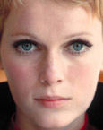 Mia Farrow's Face
