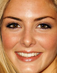 Tamsin Egerton's Face