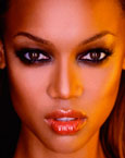 Tyra Banks's Eyes