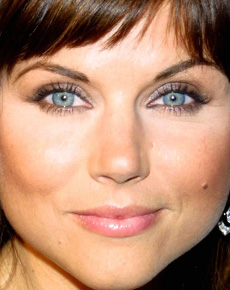 Tiffani Amber Thiessen's Face